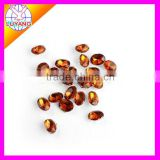 new design oval sew-on flatback acrylic diamond rhinestone two holes factory sell