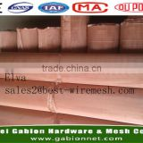 Copper mesh fabric/EMI EMF RF shielding material copper wire mesh
