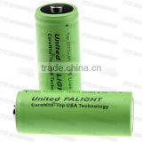 Newest UNITED PALIGHT 26650 li-ion cell rechargeable li-ion battery 3.7v 5000mah with button top nipple