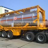 DTA Skeleton Semi Trailer /container chassis / container semi trailer Container skeleton semi trailer -30ft,40ft