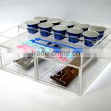 Acrylic Coffee Capsule /Tea Bag Storage Rack (Holder /Dispenser/ Box /Stand )