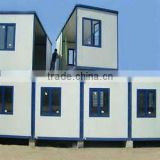 sandwich panel prefabricated movable container house with B.V.&ISO certificate for office/shop/living