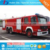 Heavy duty SINOTRUK fire engine 6*4 336HP 10cbm water fire truck HOWO Fire fighting Truck                                                                         Quality Choice
