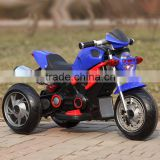 Hot kids electric motorcycle baby carriage 3 wheel motorcycle