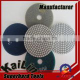 "3"" 4"" 5"" wet dry granite marble polishing floor pad / abrasive grinding pad"