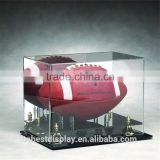 fashion custom acrylic display cases wholesale,acrylic soccer ball display case shenzhen factory