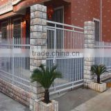 Beautiful modern fence gate design with high security