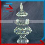Facet Glass Tree Christmas Decoration Crystal Crafts