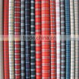 Beautiful Cotton Yarn Fabric Dyed Plaid Cotton and Polyester Fabric for Garments Manufacturer