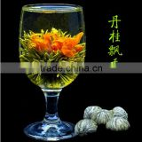 2016 New hand made blooming tea Lilied and Osmantus flower