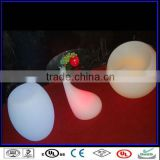 LED illuminated furniture luminous bar table, led color rechangeable luminated table and stool