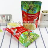 Food Grade Zipper Frozen Pouch Bag / Ziplock Aluminium Foil Pet Food Packaging Bag /Resealable Plastic Bags With Zipper