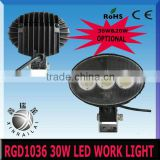 30w,2450LM 9-32v 12v led trailer lights RGD1036 bus truck motorcycle heavy duty train boat