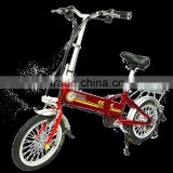 Lovely model folding electric motorcycle 48v 250W