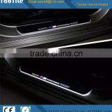 Guangzhou auto parts led moving door scuff plate car door sill pedal led light for M-ERCEDES accessories