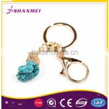Strict QC Manufacturer Artistic Custom Logo Metal Fashion Keychain