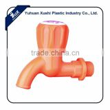 orange color plastic ABS tap ceramic tap faucet southeast asia india pakistan sri lanka indonesia philippine household bibcock