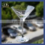 wholesale creative fashion personality gold rim wine glass shot glass for wendding