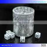 factory direct lowest price dice cup high-grade custom leather dice cup wholesale shaker cup