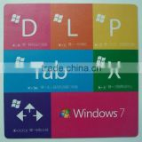 Cheap custom fabric mouse pad for promotion, heat transfer printing mouse pad, rubber mouse pad