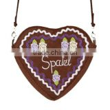 ladies bag , dirndl bag, heart bag , trachten bag , bavarian bag , oktoberfest bag