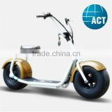 Hot Sale Harley lithium battery Fat Tire Electric Motor Scooter With Ce Charger