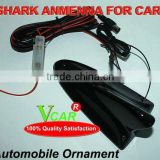 Car Analog TV Radio Black Shark Antenna