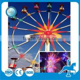 Thrill & Attractive manufacture amusement playground ride outdoor giant ferris wheel for kids &adults