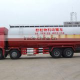 Manufacturer, ISO Tri-axle tanker trailer for tractor / gasoline crude oil fuel tank semi trailer / tractor water tanker