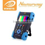 Full HD Analog CCTV Tester AHD CCTV Tester with 3.5 inch Touch LCD Monitor