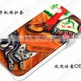 2015 Ricon Metal crafts of High-quality Metal Custom Epoxy or Resin Coated Phone Sticker