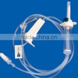 Medical disposable iv infusion set apparatus