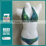 Unique Brazilian Cut Ladies Reversible Swimwear Sexy Bikini,Popular Brazilian Print Design women Reversible Swimwear Bikini