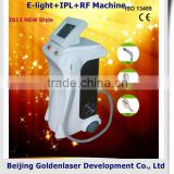 1-10HZ 2013 Exporter E-light+IPL+RF Machine Elite Epilation Lady / Girl Machine Weight Loss Diode Laser Har Removal