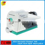 Corn stalks wheat straw grinding mill machine for wood biomass power