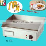High capacity the ce electric round griddle