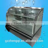 bakery refrigerator showcase commercial display cake refrigerator,display bread showcase ZQ12BC01