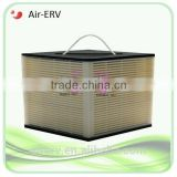 Paper ERV core heat recovery core for air ventilation