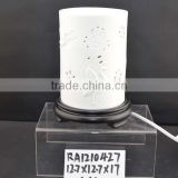 promotional gifts ceramic electric fragrance oil burner with lamp function for aromatheraphy