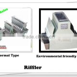 Stainless steel riffle splitter divider, coal and ore sample riffle tool