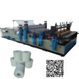 Full Automatic rewinding and perforating tissue roll small toilet paper making machine price