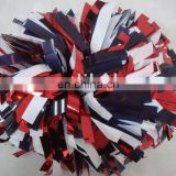 metallic cheer leading pom poms