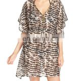 C96 Embellished Cover-Up Kaftan Beachwear