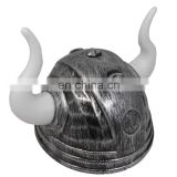 Halloween plastic viking helmet with horns