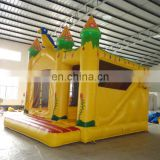 High quality Birds Tiger Jungle Inflatable Bouncer And Slide Combo