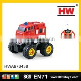 New product 20cm 4 channel rc plastic cartoon toys off road car