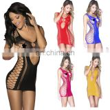 Beauty's Love Women Multi Neon 6 Colors Body Tights Stockings Fishnet Babydoll Erotic Mini Dress Lingerie Sexy Bodystocking