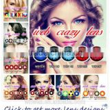 magic contact eye lenses soft hot selling crazy contact lens