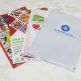 China supplier file folder custom L-shape folder with pocket