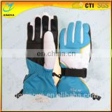 Custom Logo Band Winter Ski Gloves For Adults Outdoor Sport Glove